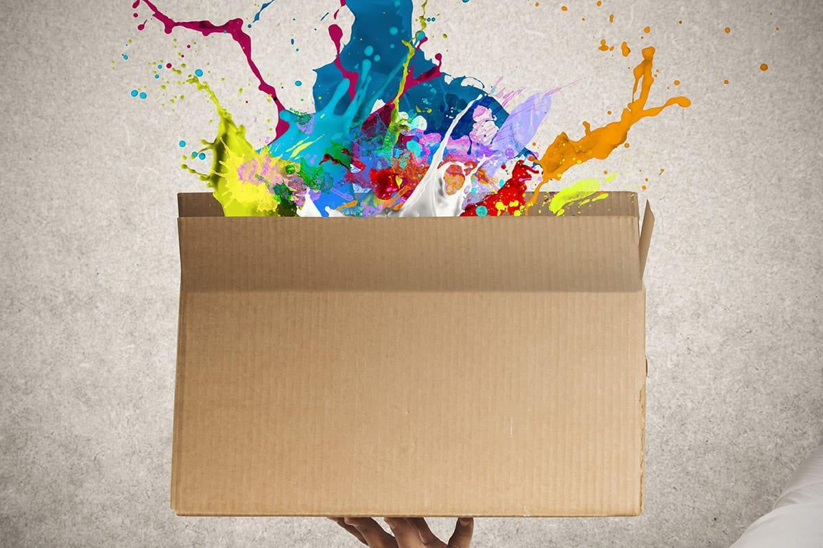 Kreative Verpackungen