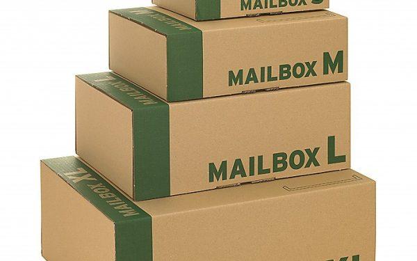 Stanzverpackung Mailbox