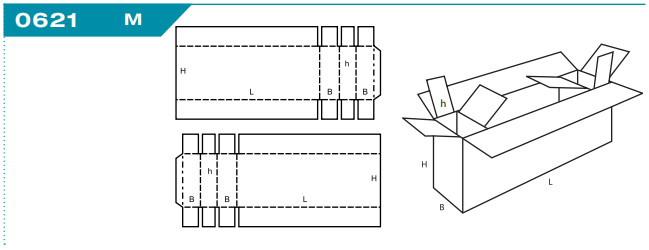Verpackung 0621 Formfeste Schachtel