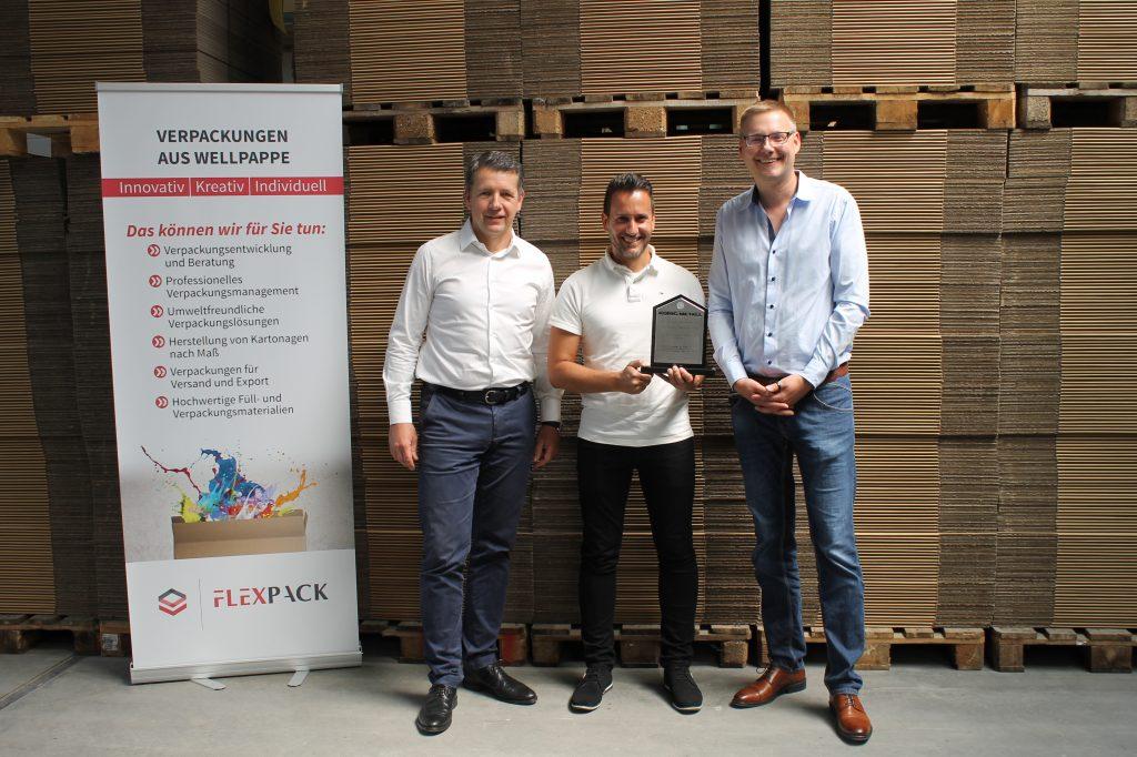 König Metall Dr. Otmar Zwiebelhofer Supplier Award FPS Flexpack